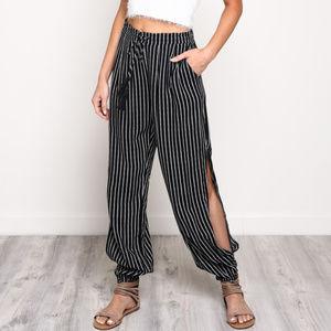 Mustard Seed - Stripe Pants